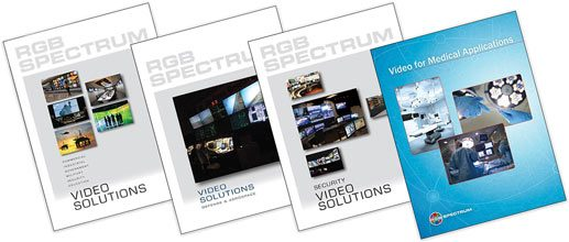 RGB Spectrum brochures