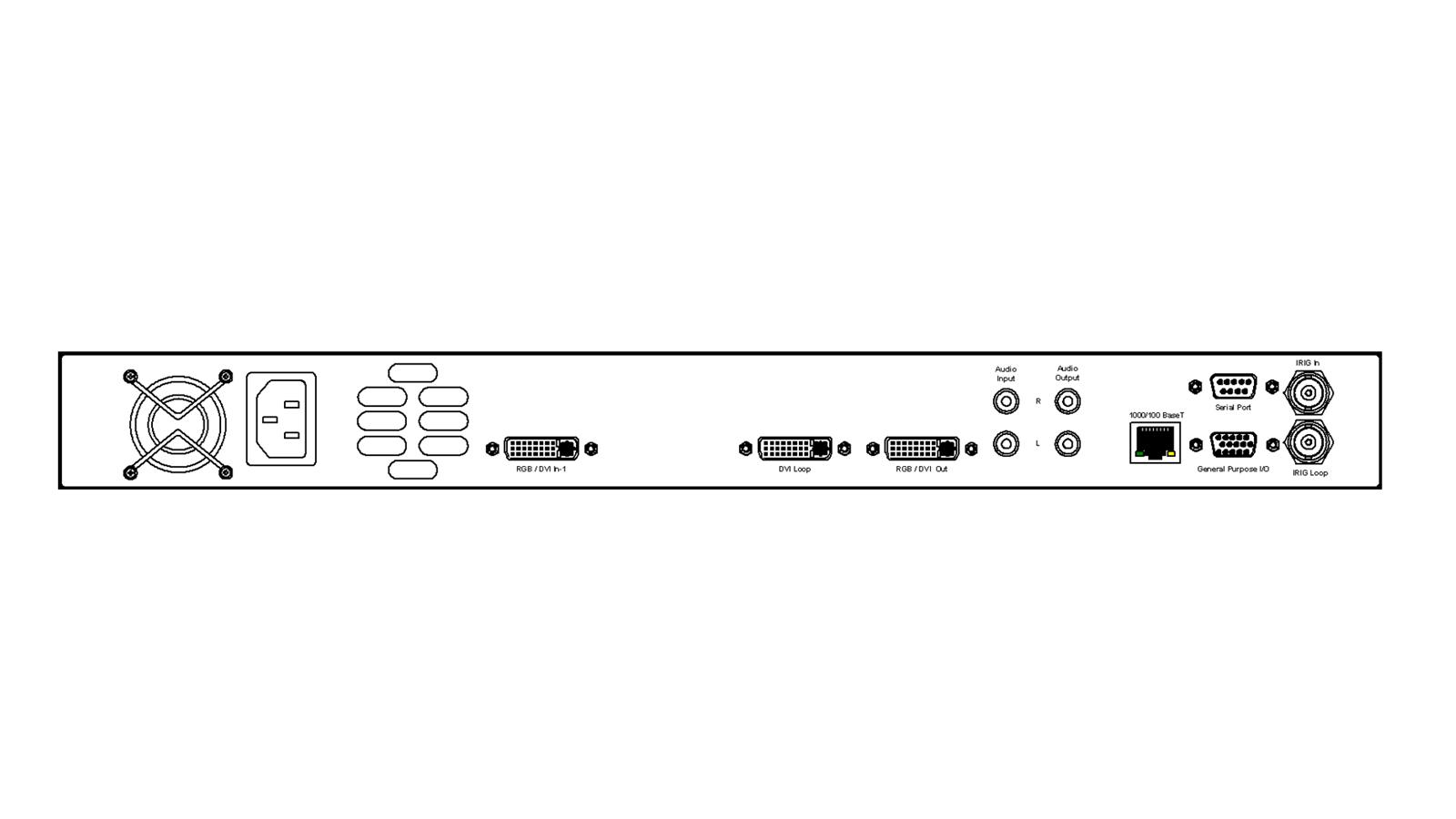 DGy Codec - back panel