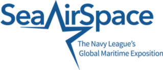 Sea Air Space 2018 conference logo