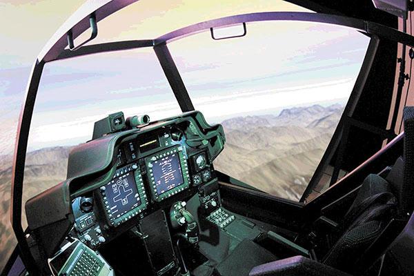 Apache Longbow Trainer simulation
