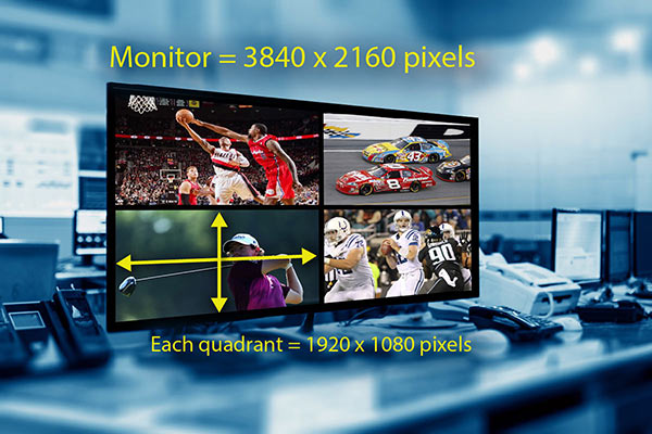 Multi-Monitor Video Walls and Bezel Compensation | RGB Spectrum