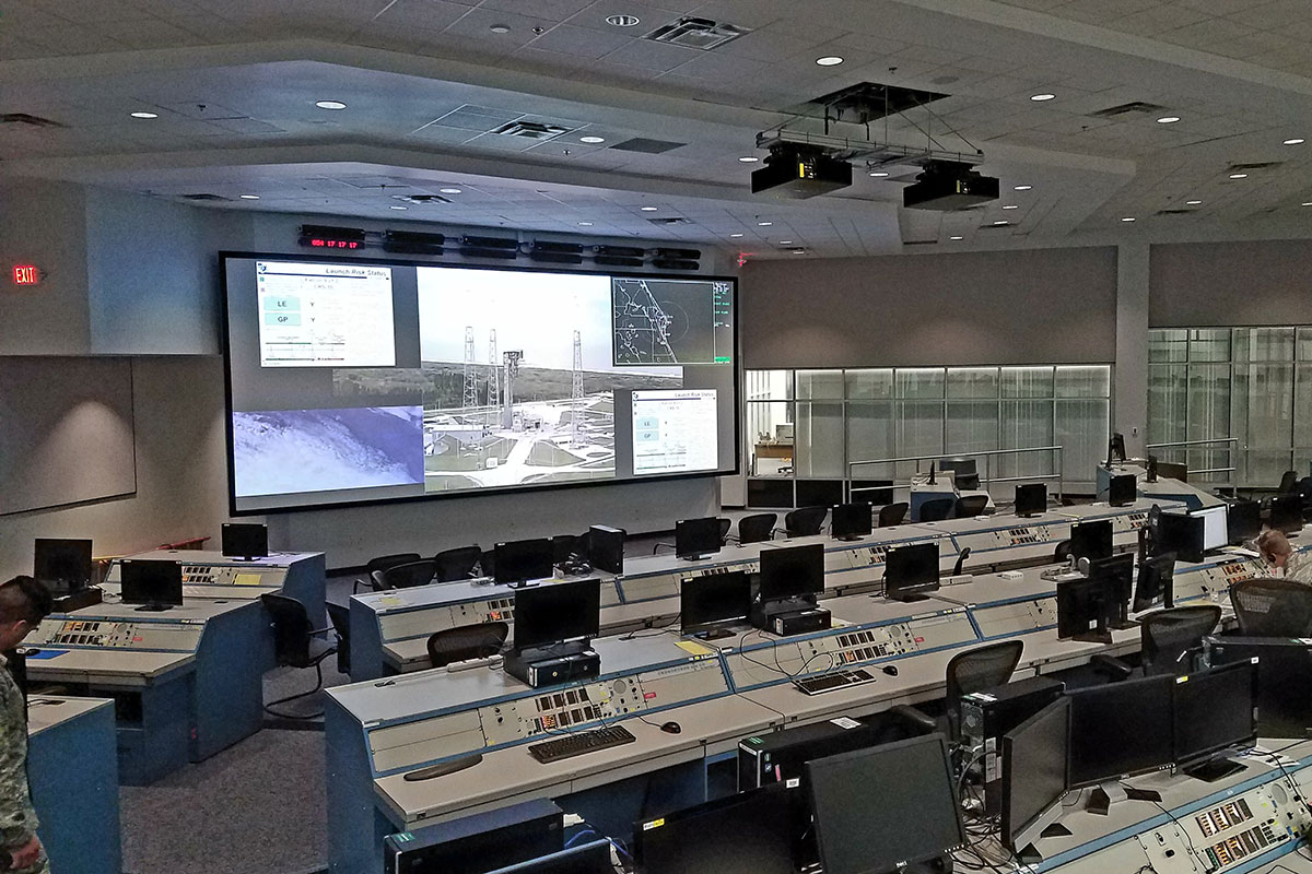 U.S. Air Force Space Command operations center