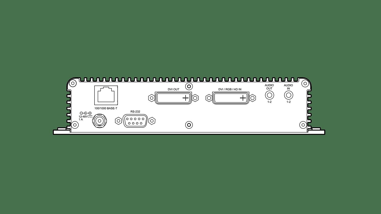 DSx 300 Back Panel