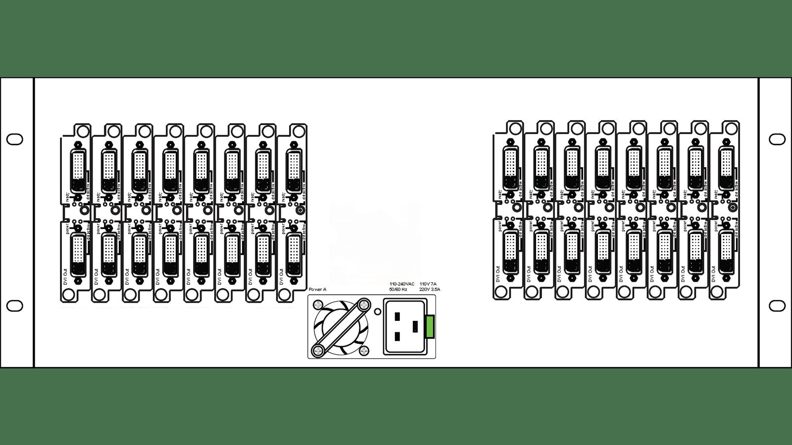 Linx 1800: Back Panel