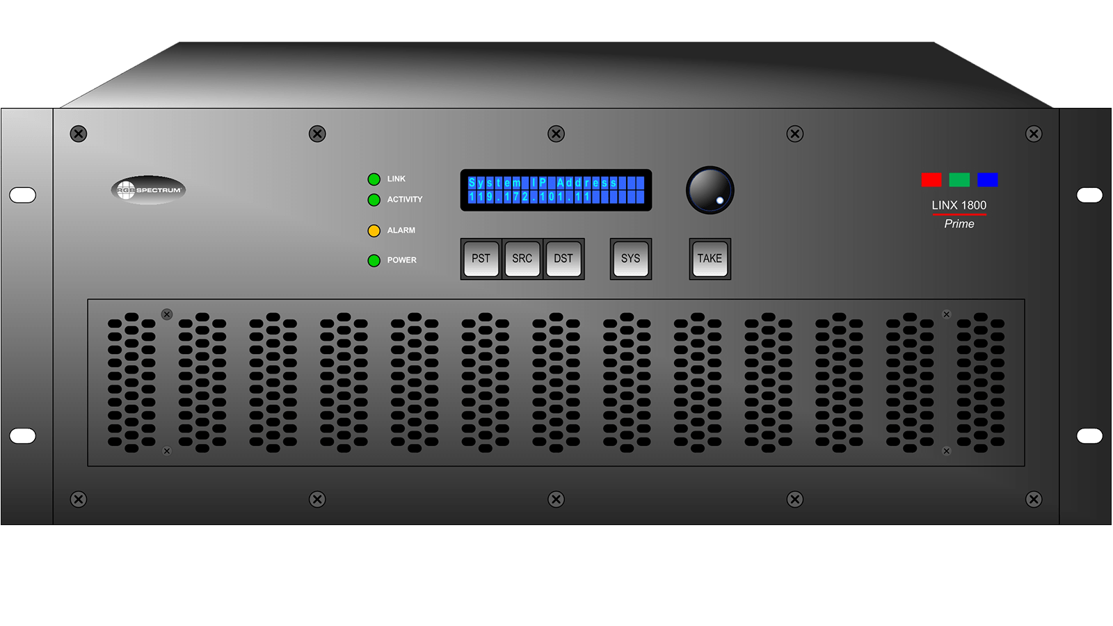 Linx 1800: Front Panel