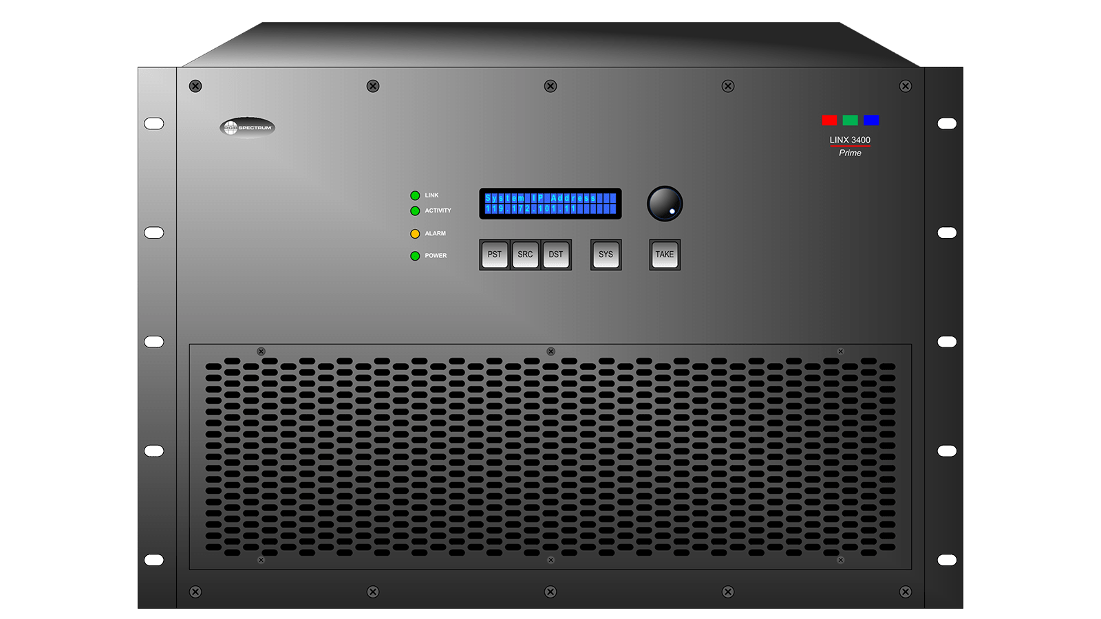 Linx 3400: Front Panel