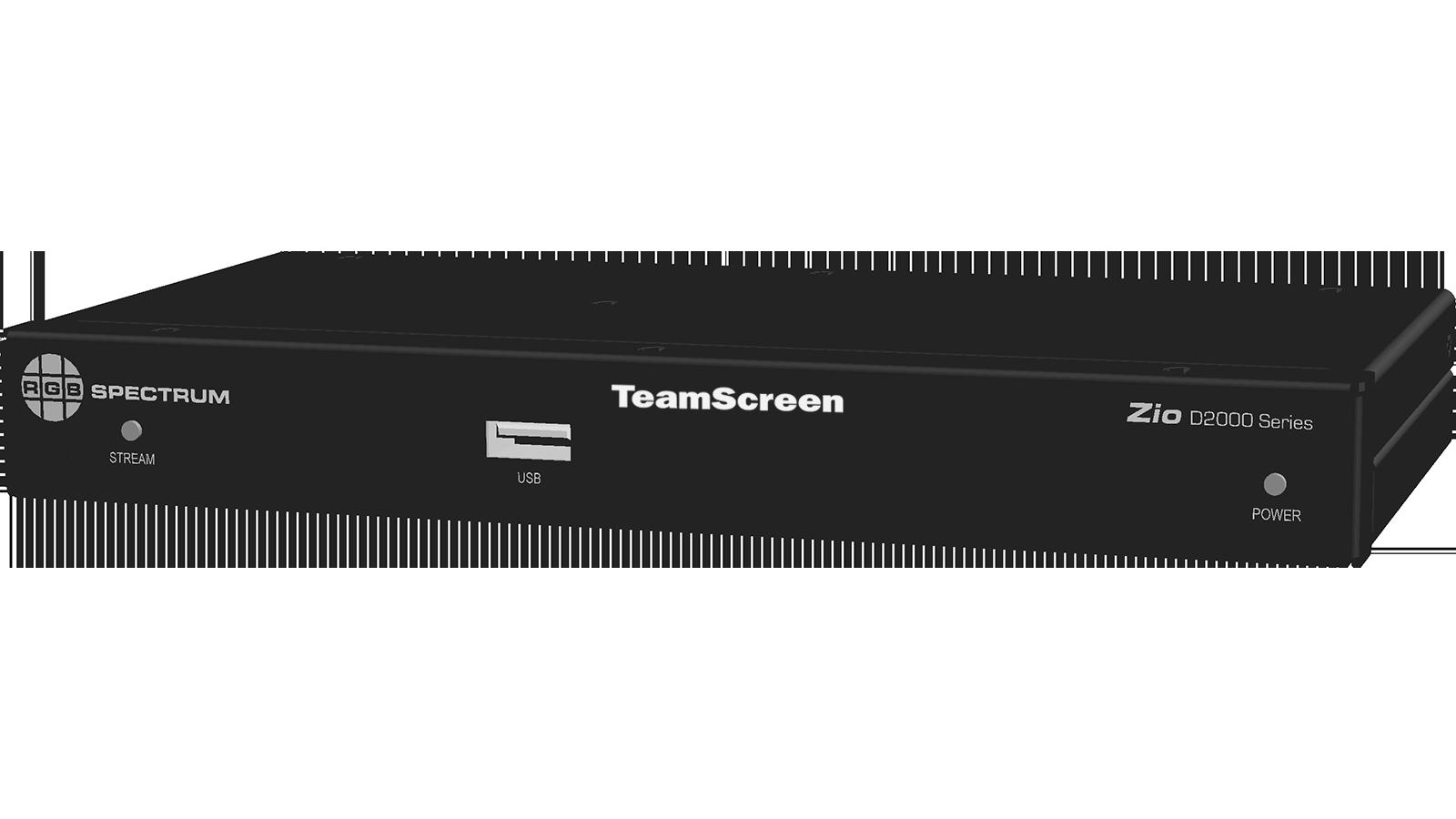 TeamScreen D2000 front