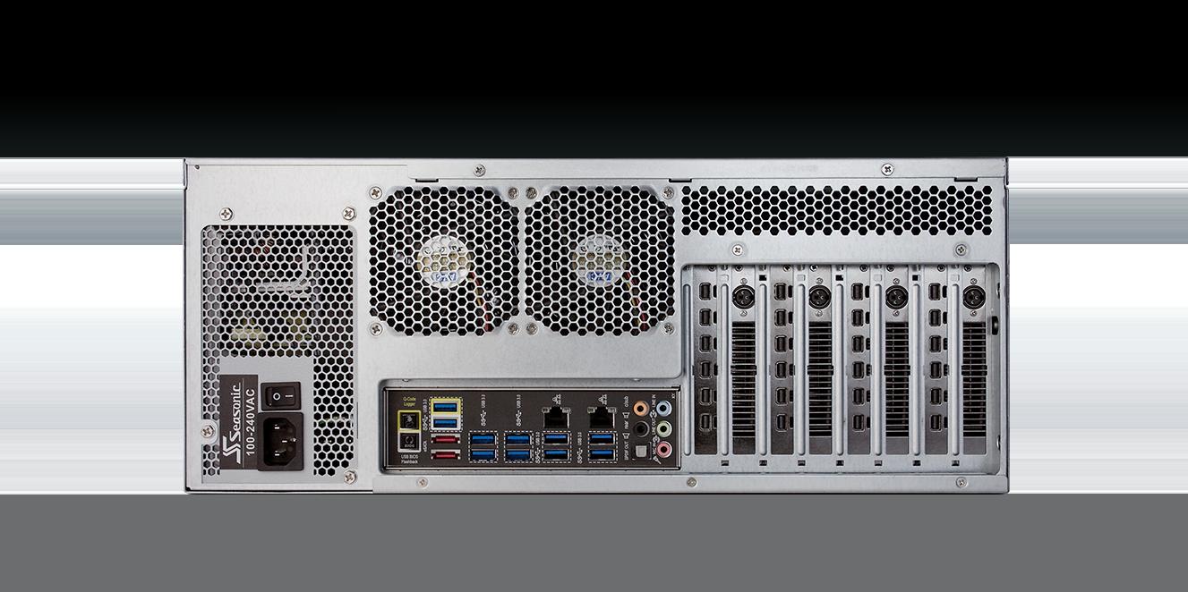 D3100 Series: Back Panel