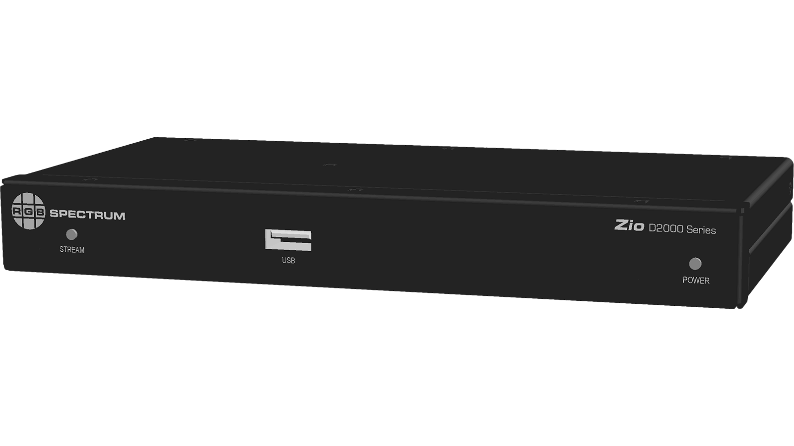 D2000 Series Multiviewer: Front Panel