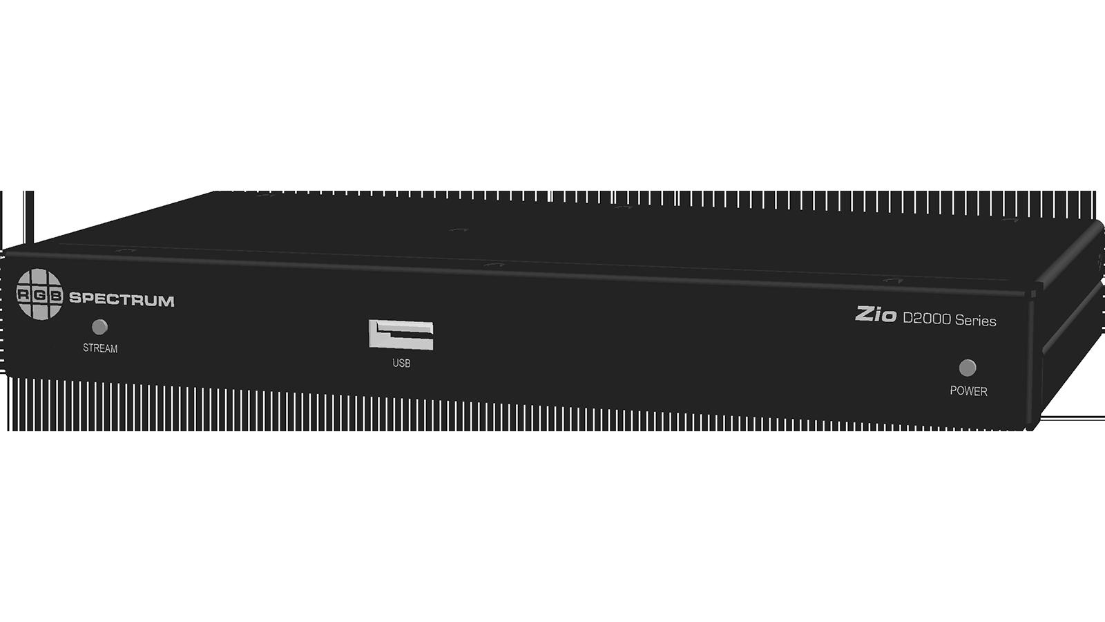 D2000 Series Decoder: Front Panel
