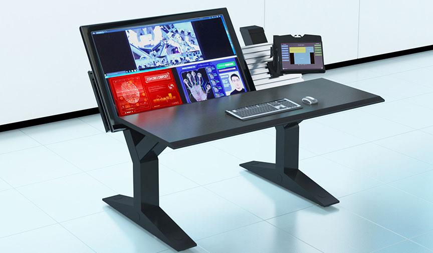 QuadVIew KVM console
