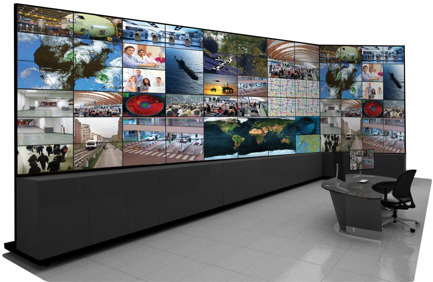 The Challenge of Displaying Hundreds of IP Cameras on a Video Wall