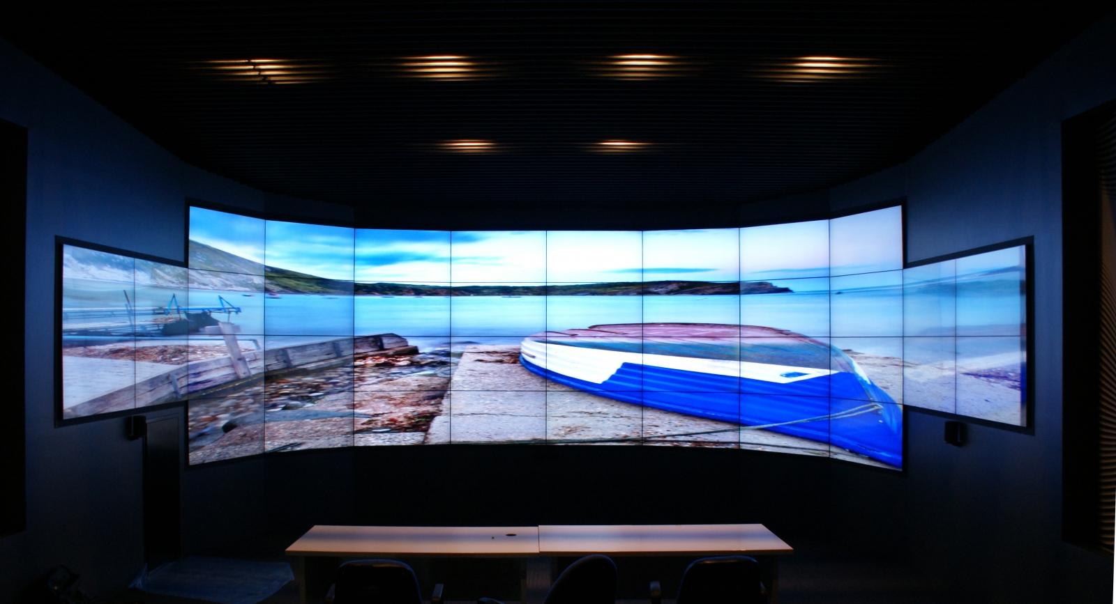 Corporate Presentation Room Provides Versatile Information