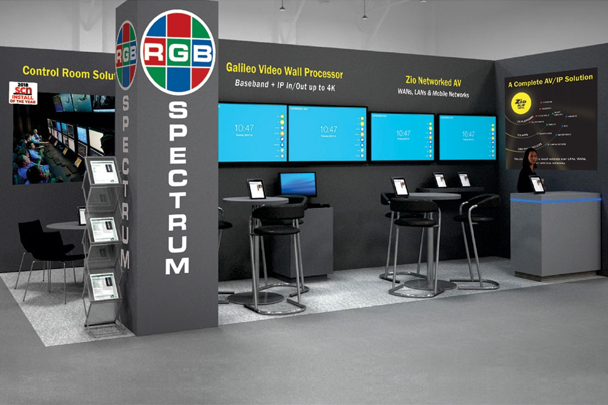 See The Latest In Wall Processing And Networked Av At Ise