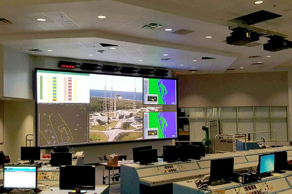 Cape Canaveral Air Force Station Video Wall