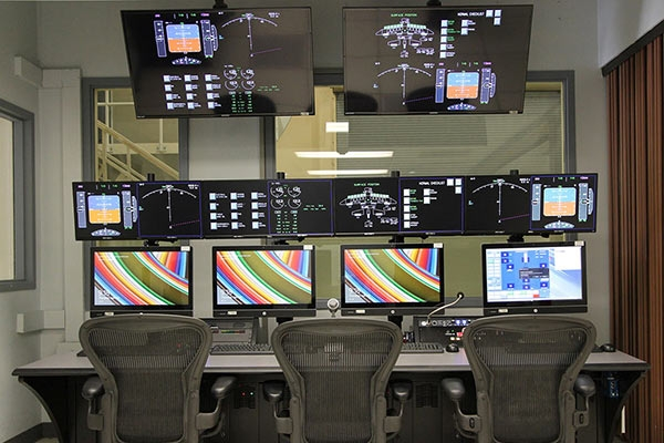 NASA Ames Research Center console