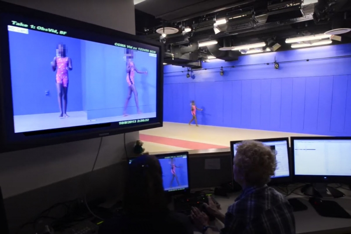 gait analysis video screens