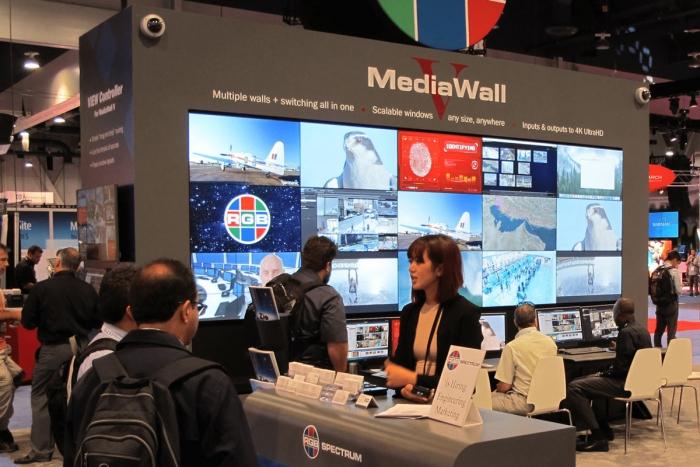 MediaWall V Display Processor at InfoComm