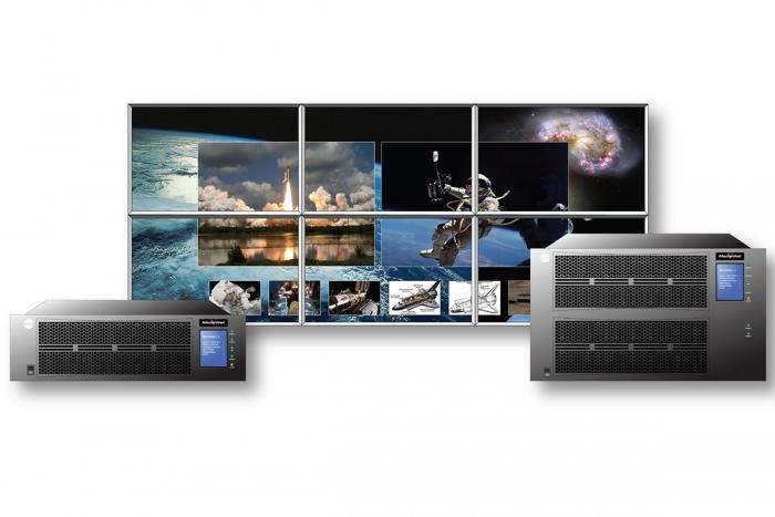 RGB Spectrum's MediaWall V: The World's First True 4K UHD Video Wall Processor