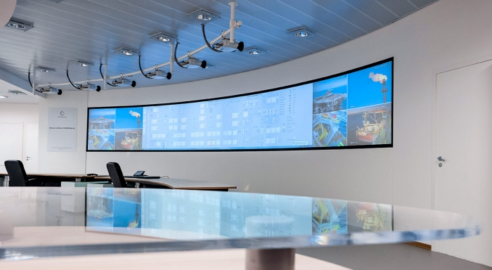 Statoil Mariner Chooses RGB for 24/7 Control Room Flexibility