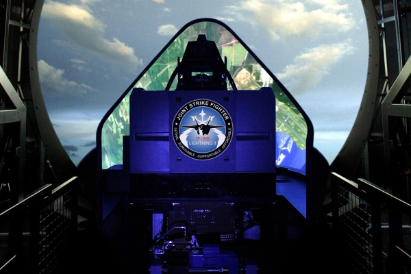 Lockheed Martin's F-35 Joint Strike Fighter Full Mission Simulator