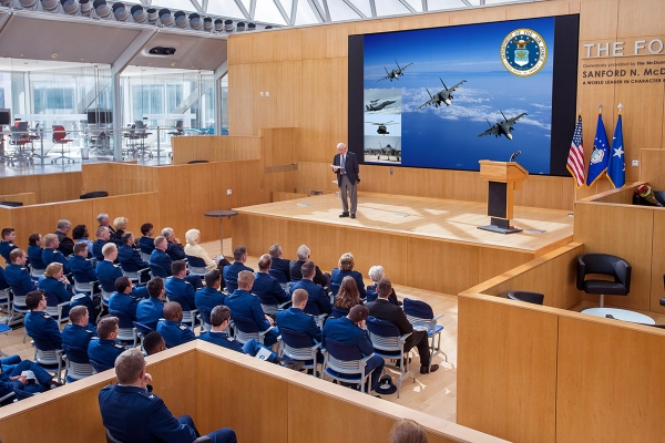 Galileo Processor Enhances Air Force Academy Presentations