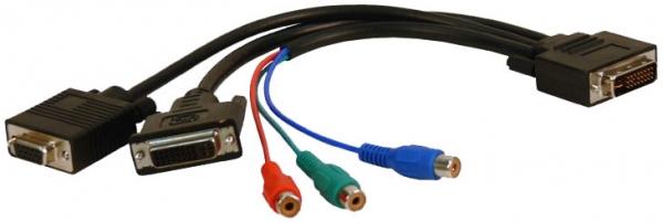 DVI breakout cable