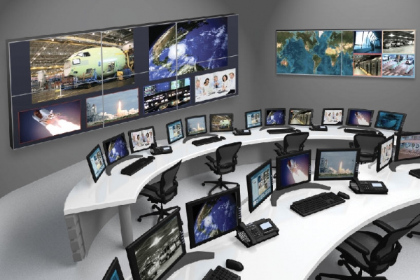 RGB Spectrum control room with networked AV
