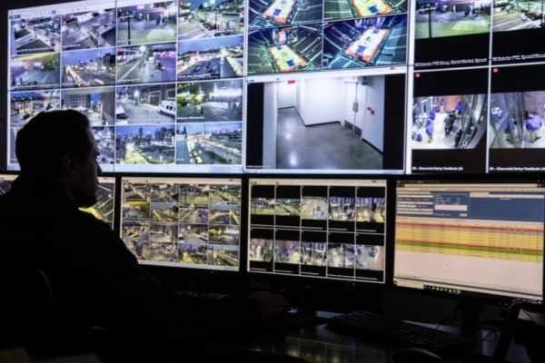 Detroit NHL security operations center