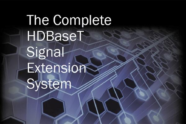 HDBaseT signal extender