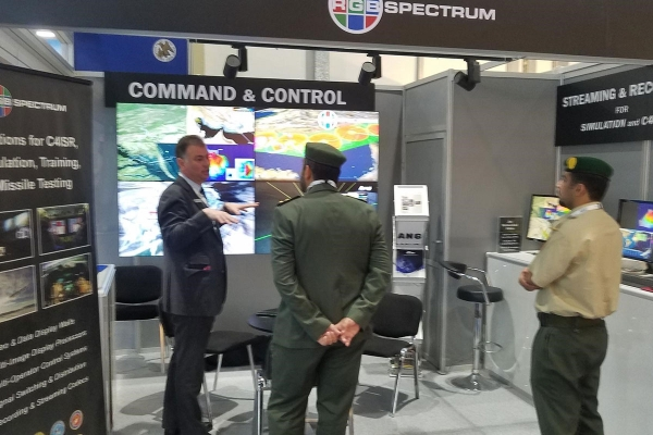 RGB Spectrum at IDEX AFCEA WEST conference