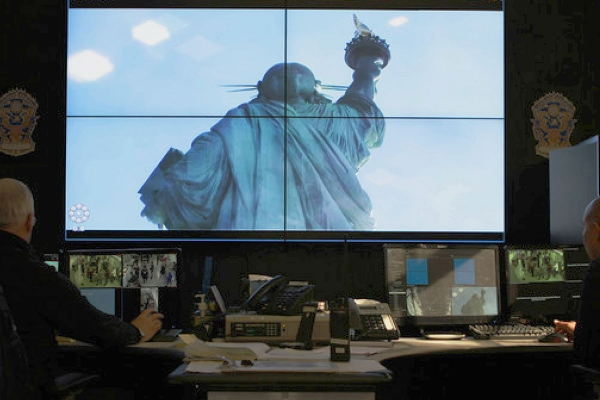 Statue of Liberty security console