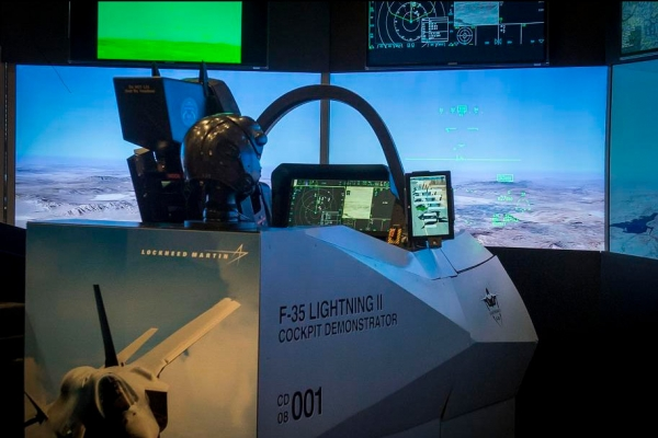 Lockheed Martin simulator I/ITSEC 2019 RGB Spectrum
