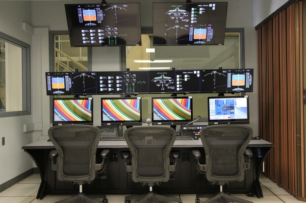Flight simulators at NASA Ames Research Center