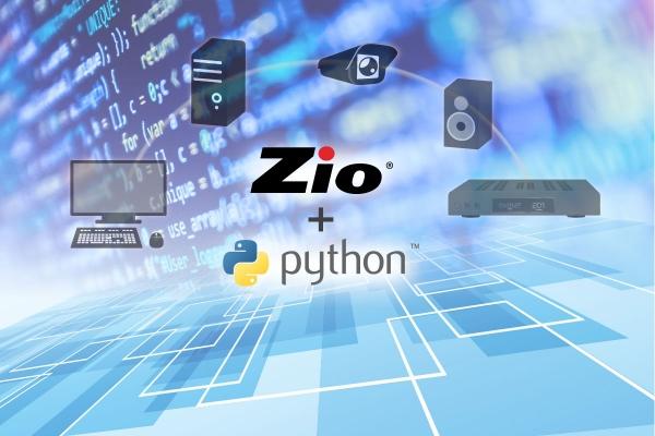 Zio Networked AV Python scripting capability